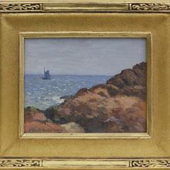 3-4850 J Eliot Enneking Oil Sea and Rocks A_MG_8470