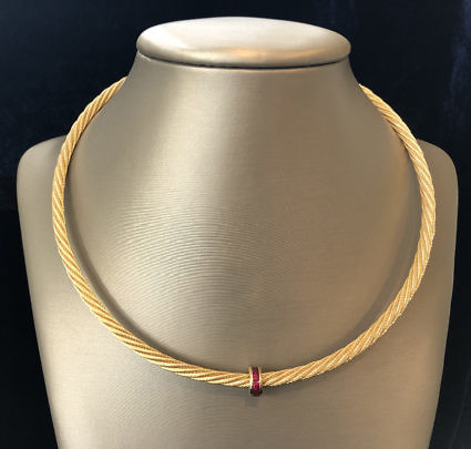 39-4419 14k Cable Necklace A IMG_2831
