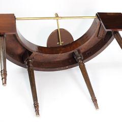 George III Regency Mahogany Wine Tasting Table, circa 1820