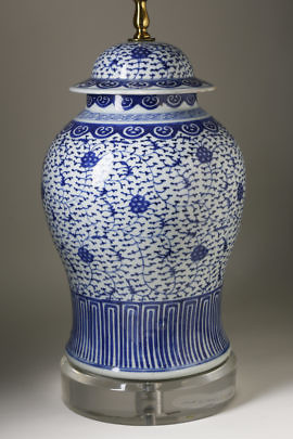 41204 Blue White Chinese Lamp A_MG_7854