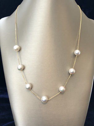 41270 Akoya Pearl Tin Cup Necklace A IMG_2946