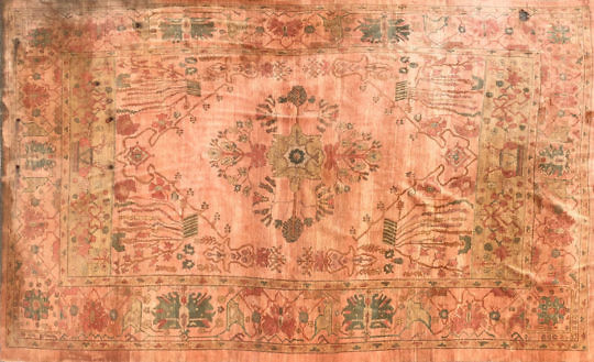 4900 Vintage Oushak Carpet A IMG_3286