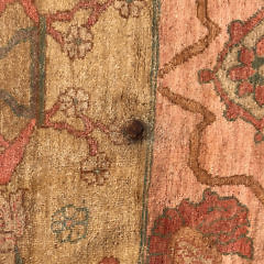 Vintage Oushak Hand Woven Carpet