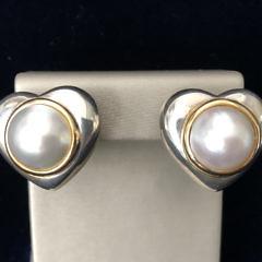51-4419 Tiffany Mabe Pearl Earrings A IMG_2896
