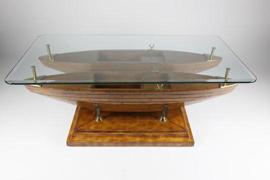 9-4846 Maitland Smith Double Dory Coffee Table A_MG_8238