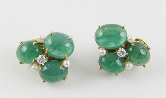 154-4800 Seaman Schepps Emerald Earrings A_MG_8810