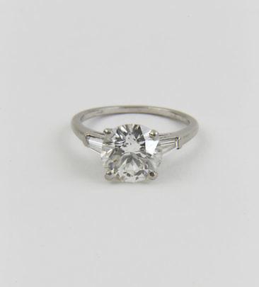 158-4800 European Cut Diamond Ring A_MG_8989