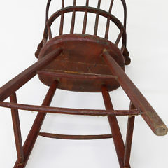 Nantucket Made Child's Windsor Highchair, late 18th Century