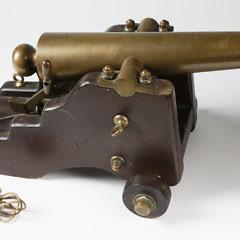 Strong Firearms Company Brass Yacht Signal Saluting Cannon, circa 1900