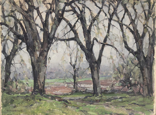2-4851 Frank Swift Chase Wooded Landscape A IMG_3529