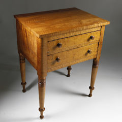 2258-955 Tiger Maple Birds Eye Stand A_9561