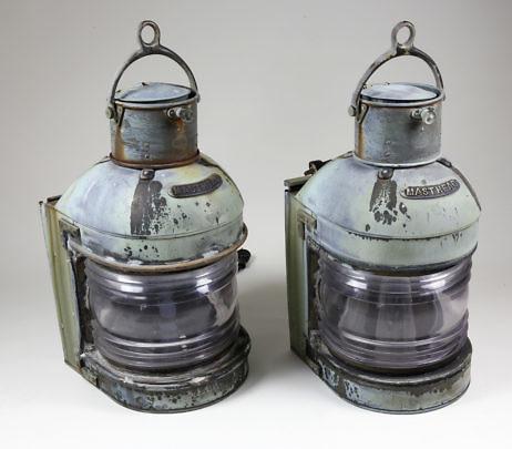 307-4800 Pair Masthead Lanterns A_9737