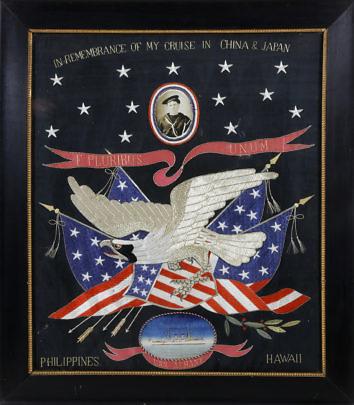 41212 Spanish American War Patriotic Embroider A_9687