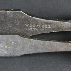 Three Whaler Made Whale Bone and Steel Woodworking Tools, circa 1850