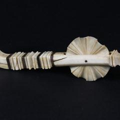 Whaleman Made Whale Ivory Pie Crimper, circa 1850
