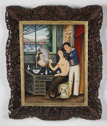 85-4621 Ralph Cahoon China Trade Sailor and Mermaid A_MG_9409