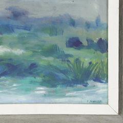"""Pat Gardner Oil on Canvas, """"Landscape"""""""