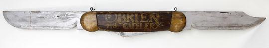 90-4575 Obrien Fine Cutlery Sign A_9844