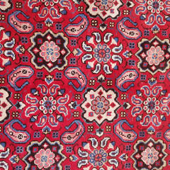 Hand Woven Wool Oriental Carpet, circa 1950s