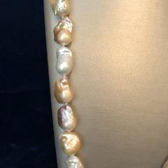 Multi-Color Baroque Fresh Water Pearl Necklace