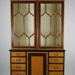 1-4887 Federalist Breakfront Cabinet A_MG_2862