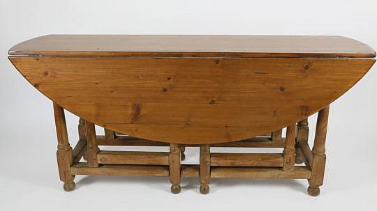 101 Pine Gateleg Dining Table A_MG_2492