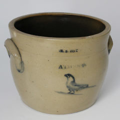 "1530-54 Salt Glazed Pot ""K.S. Fox Athens"" A_MG_2296"