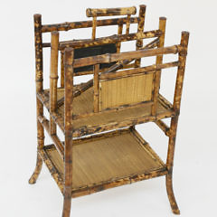 1531-54 Antique Bamboo Magazine Stand A_MG_2427