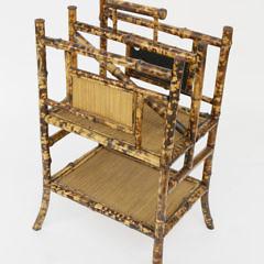 Antique Bamboo Magazine Stand