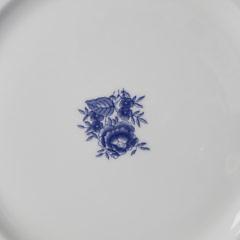 Set of Nine Vista Alegre Portugal Porcelain Salad Plates