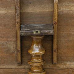 Antique Mahogany Round Tilt Top Table