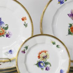 32 Royal Copenhagen Plates, 19th Century
