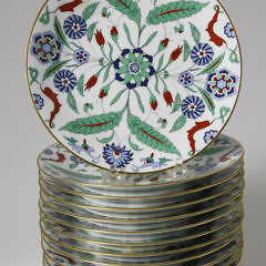 20-4878 Limoges Art Persan Plates A_MG_2229