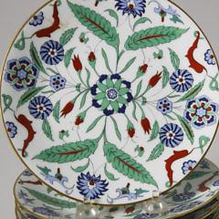 "Set of Twelve Haviland Limoges ""Art Persan"" Dessert Plates"
