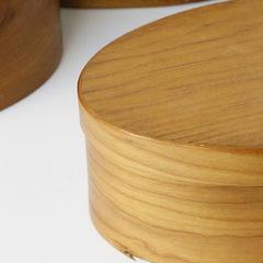 5 Tom Mariner Shaker Oval Boxes
