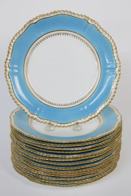 30-4878 Hammersley Porcelain Plates A_MG_2202