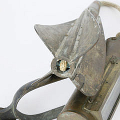 19th Century John Bliss & Co. Taffrail Log