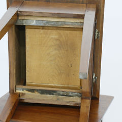 Pair of 19th c. Cherry Hepplewhite One Drawer Stands