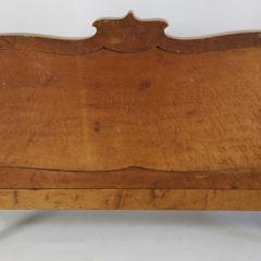 American Bird's Eye Maple Hall Bench