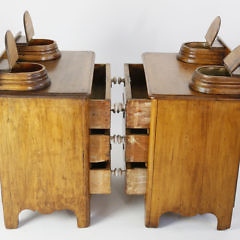 Pair of 19th Century Pine Youth Chest of Drawers