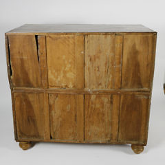 Chinese Export Camphorwood and Ebony Campaign Chest of Drawers, circa 1820