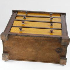 19th Century Mahogany Child's Chest of Drawers