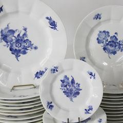 Set of 37 Royal Copenhagen Denmark Partial Dinner Service