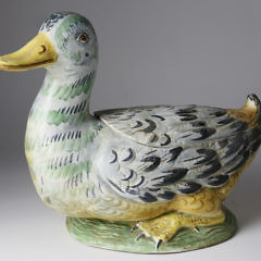 42-4878 Hand Painted Duck Tureen A_MG_2378