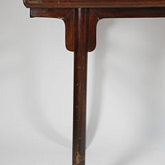 Contemporary Chinese Teakwood Altar Table