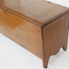 19th Century New England Pine Blanket Chest