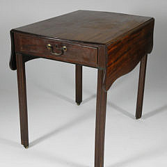 18th Century English Mahogany Pembroke Table