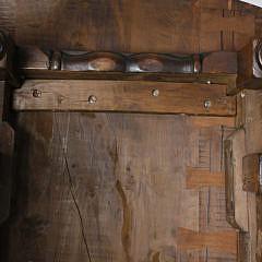 Large English Yew Wood Drop Leaf Gateleg Dining Table