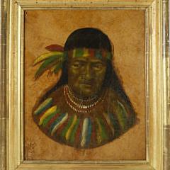 9-360 Oil Portrait of a Native American A_MG_2496
