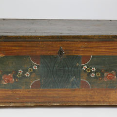 91-621 Paint Decorated Lift Top Blanket Chest A_MG_2405